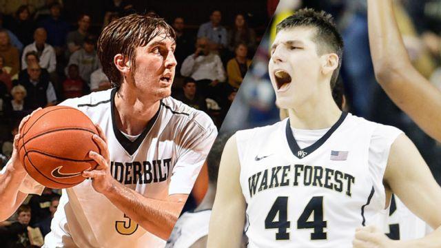 #19 Vanderbilt vs. Wake Forest (Semifinal #1) (M Basketball)