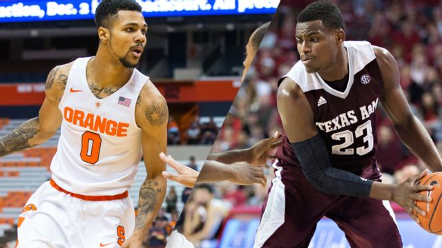 Syracuse vs. #25 Texas A&M (Championship) (M Basketball)
