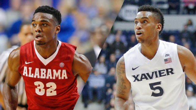 Alabama vs. #23 Xavier (Quarterfinal #1) (M Basketball)