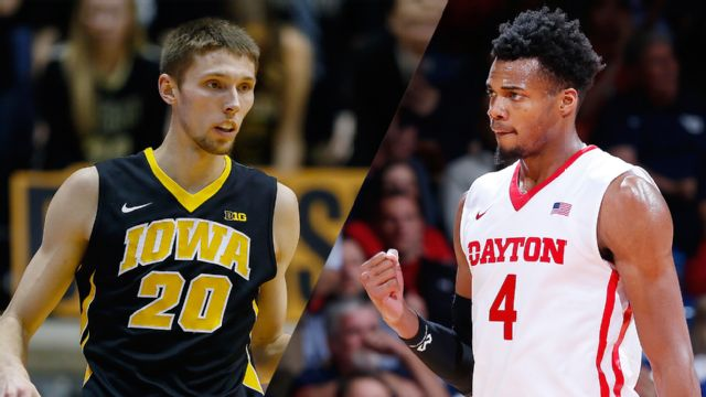 Iowa vs. Dayton (Quarterfinal #4) (M Basketball)