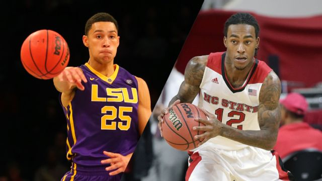 #22 LSU vs. NC State (3rd Place) (M Basketball)