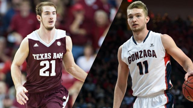 #25 Texas A&M vs. #10 Gonzaga (Semifinal #1)