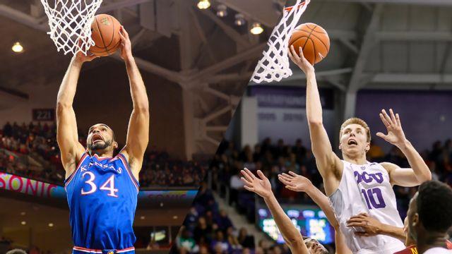 #7 Kansas vs. TCU (M Basketball)