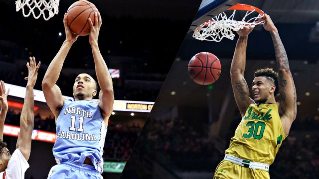 #2 North Carolina vs. Notre Dame (M Basketball)