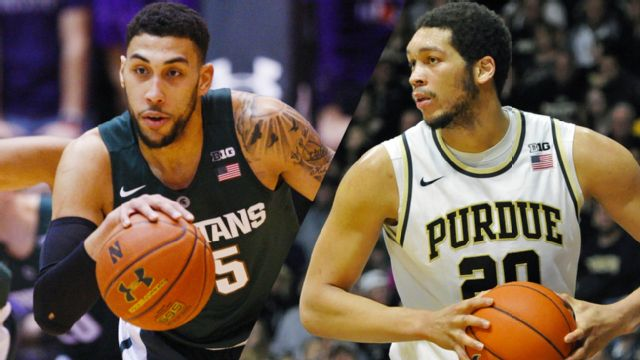 #8 Michigan State vs. #18 Purdue (M Basketball) (re-air)