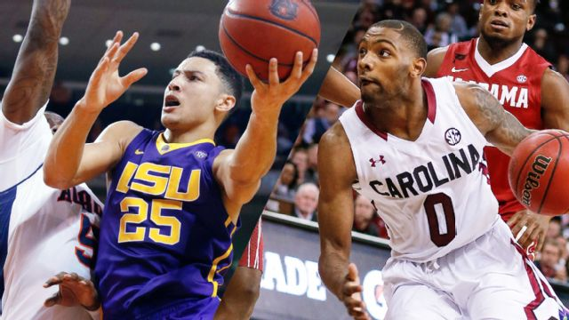 LSU vs. South Carolina (M Basketball) (re-air)