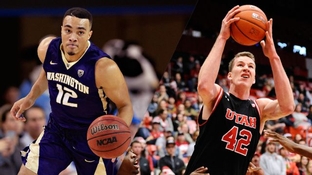 Washington vs. Utah (M Basketball)