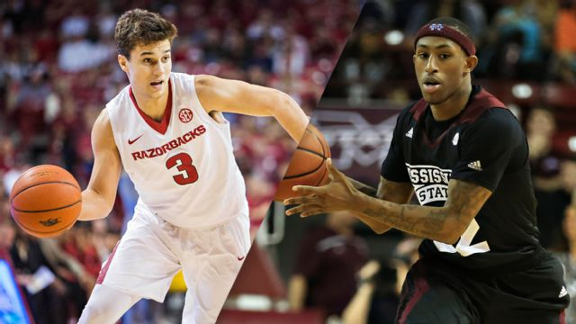 Arkansas vs. Mississippi State (M Basketball) (re-air)