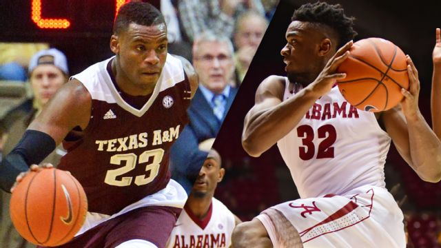 #15 Texas A&M vs. Alabama (M Basketball)