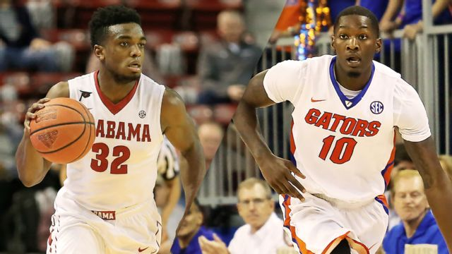Alabama vs. Florida (M Basketball) (re-air)