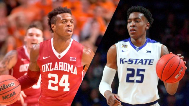 #1 Oklahoma vs. Kansas State (M Basketball)