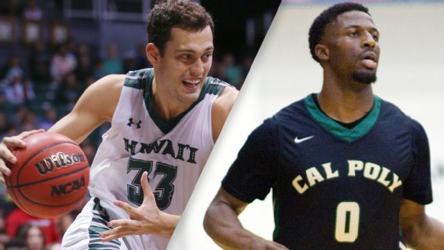 Hawaii vs. Cal Poly (M Basketball)