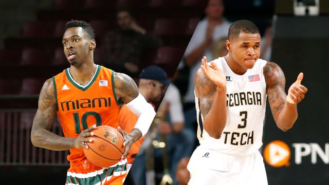 #17 Miami (FL) vs. Georgia Tech (M Basketball)