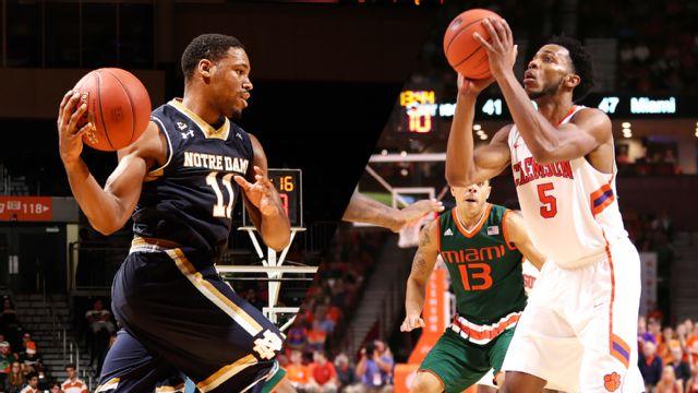 Notre Dame vs. Clemson (M Basketball)