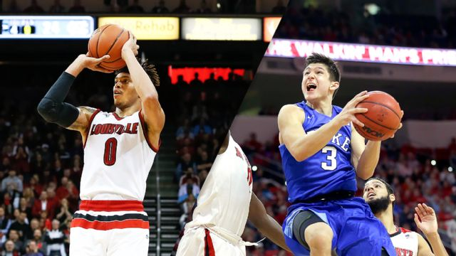 #13 Louisville vs. Duke (M Basketball) (re-air)