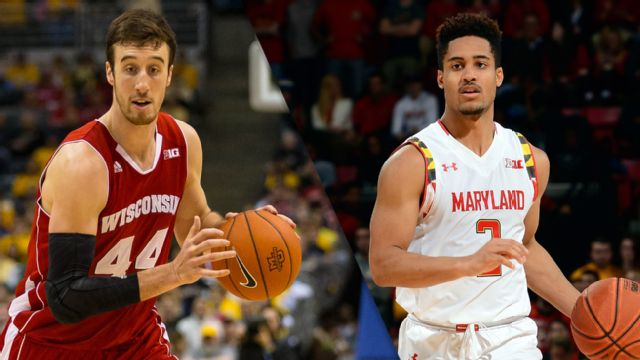 #3 Wisconsin vs. #12 Maryland (M Basketball) (re-air)