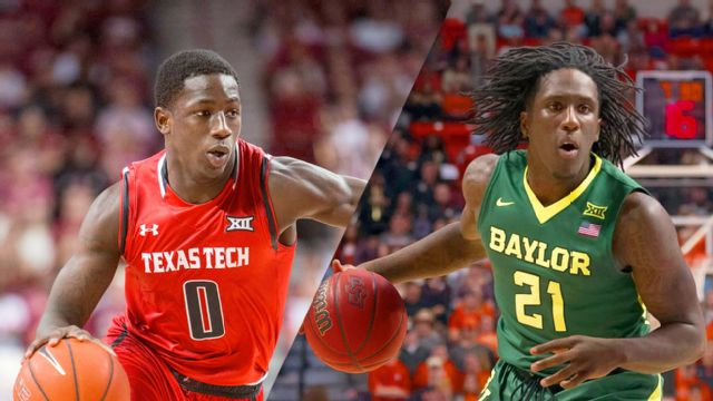 Texas Tech vs. #21 Baylor (M Basketball)