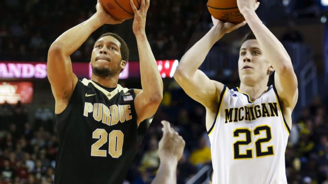 #18 Purdue vs. Michigan (M Basketball)