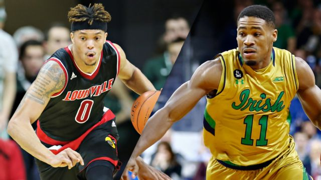 #13 Louisville vs. Notre Dame (M Basketball)