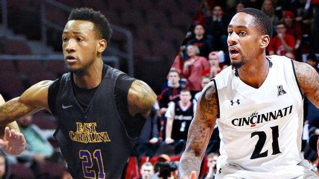 East Carolina vs. Cincinnati (M Basketball)
