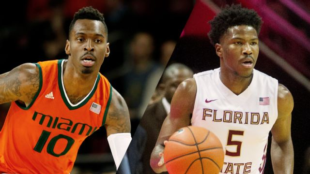 #12 Miami (FL) vs. Florida State (M Basketball)