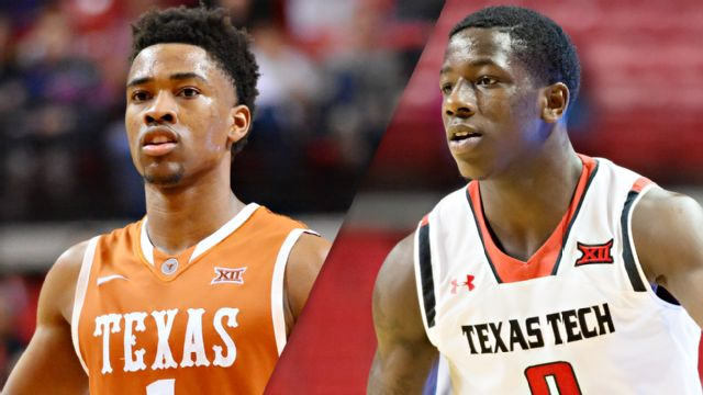 Texas Tech vs. Texas (M Basketball) (re-air)