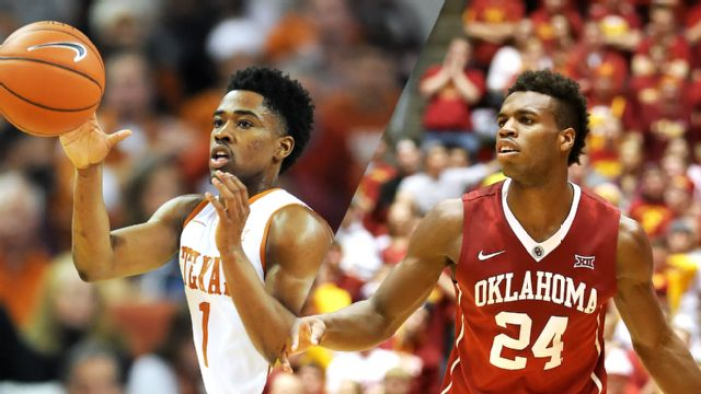 #24 Texas vs. #3 Oklahoma (M Basketball)
