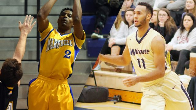 Mars Hill vs. Wingate (M Basketball)