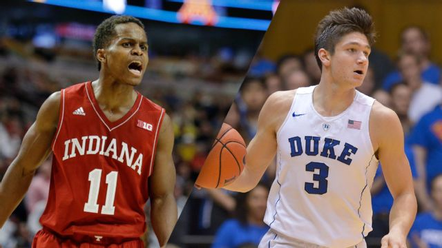 Indiana vs. #7 Duke (M Basketball) (re-air)