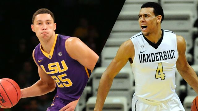 LSU vs. Vanderbilt (M Basketball) (re-air)