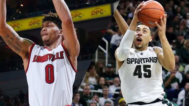 #24 Louisville vs. #3 Michigan State (M Basketball) (re-air)