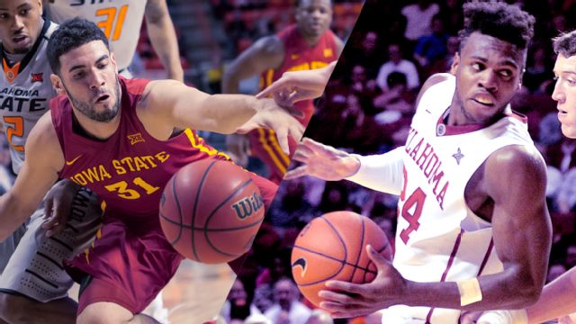 #21 Iowa State vs. #6 Oklahoma (Quarterfinal #4) (M Basketball) (re-air)