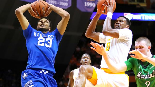 #20 Kentucky vs. Tennessee (Basketball) (re-air)