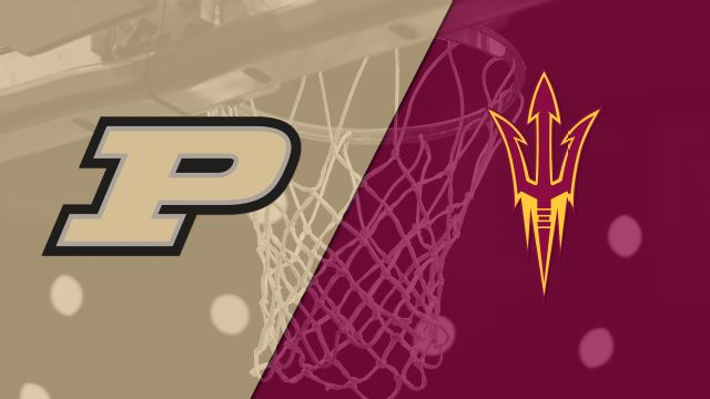 #18 Purdue vs. Arizona State (M Basketball)