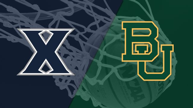 #7 Xavier vs. #9 Baylor (M Basketball)