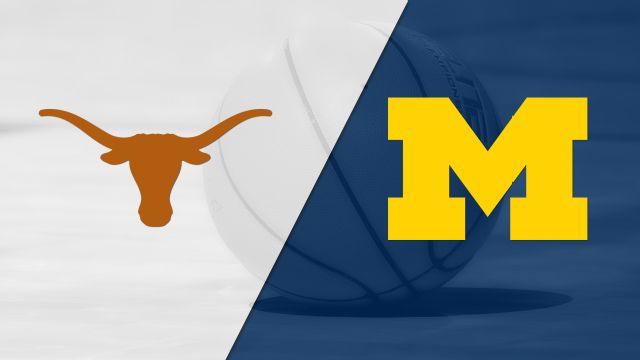 Texas vs. Michigan (M Basketball) (re-air)
