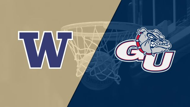 Washington vs. #8 Gonzaga (M Basketball)