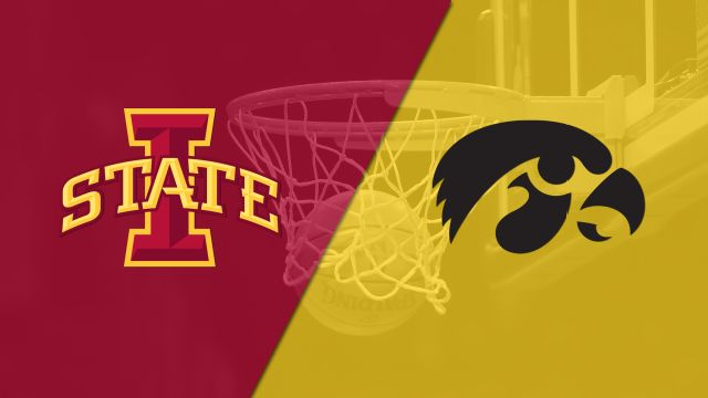 #25 Iowa State vs. Iowa (M Basketball)