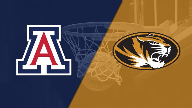 #20 Arizona vs. Missouri (M Basketball)