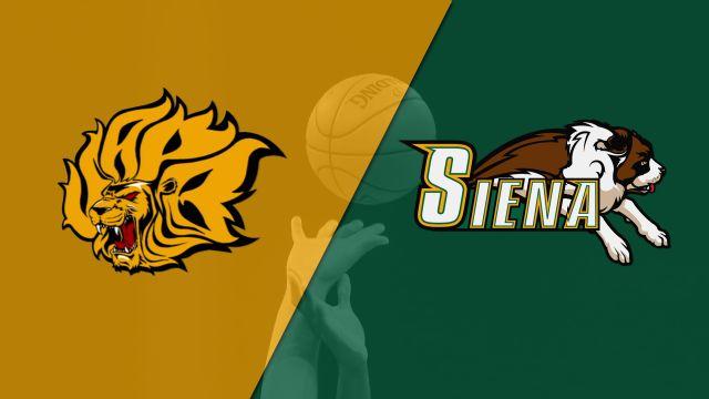 Arkansas-Pine Bluff vs. Siena (M Basketball)