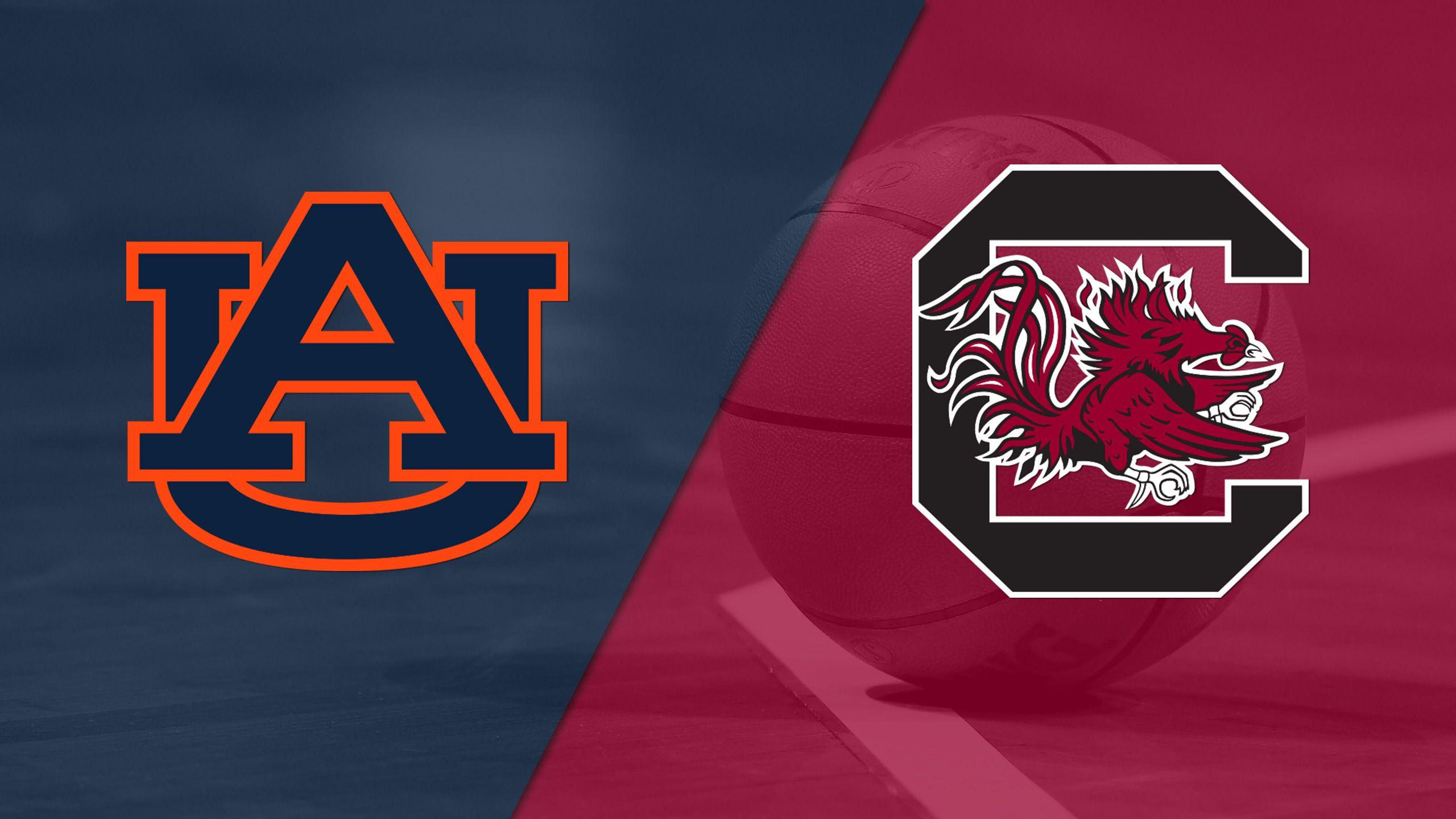 Auburn vs. #23 South Carolina (M Basketball)