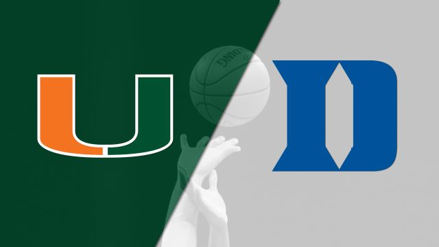 Miami vs. #18 Duke (M Basketball)
