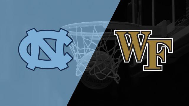 #11 North Carolina vs. Wake Forest (M Basketball)
