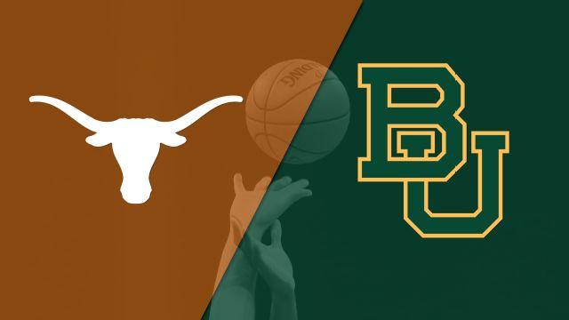Texas vs. #6 Baylor (M Basketball) (re-air)