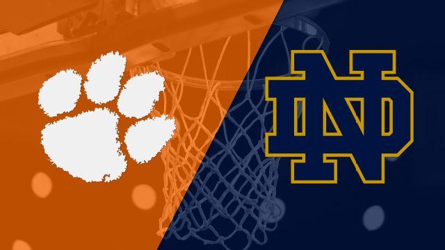 Clemson vs. #23 Notre Dame (M Basketball)