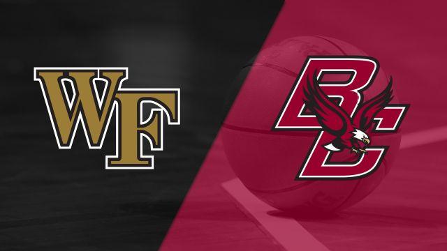 Wake Forest vs. Boston College (M Basketball)