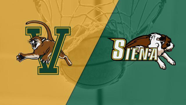 Vermont vs. Siena (M Basketball)