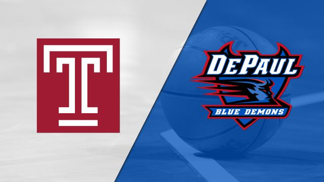 Temple vs. DePaul (M Basketball)