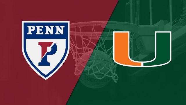 Pennsylvania vs. Miami (M Basketball)