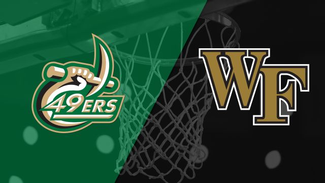 Charlotte vs. Wake Forest (M Basketball)